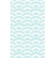 chinese and japanese wave seamless wallpaper vector image vector image