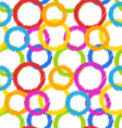 Seamless Geometric Texture Colorful Background vector image vector image