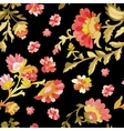 Watercolor paisley seamless pattern vector image