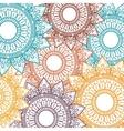 background bohemian mandala vector image