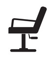 barber chair icon design vector image