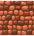 cartoon red stone texture seamless vector image