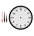 clock part vector image vector image