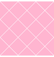 Grid Diamond Square Pink Background vector image vector image