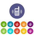 phone is ringing icon simple style vector image vector image