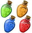 potions4 vector image vector image