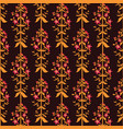 saint johns wort flowers seamless pattern vector image vector image