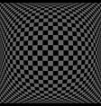 3d checked pattern vector image