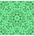 Abstract Seamless Green Geometric Pattern vector image