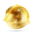 Beautiful Gold Satin vector image vector image
