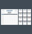 calendar for 2021 starts sunday