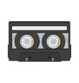 cassette tape isolated on white background vector image