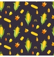 corn seamless pattern maize vector image vector image