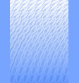 light blue overlay background in optical art style vector image vector image