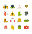 personal protective equipment for safety and vector image vector image