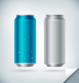 Aluminum Soda Can vector image vector image