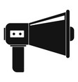 communication equipment icon simple style vector image