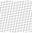 diagonal seamless zigzag pattern stylish vector image vector image