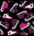 emo symbols background vector image