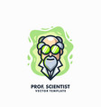 professor design template vector image