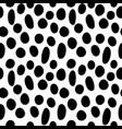 random circles seamless pattern-03 vector image vector image