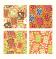 toast seamless pattern sandwich healthy toasted