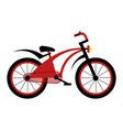 bicycle for children icon vector image