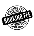 Booking Fee rubber stamp