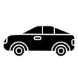 car vehicle automobile icon vector image