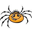 Cartoon spider vector image vector image