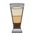 coffee shake fresh icon vector image