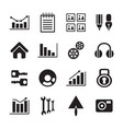 crafts icons set signals vector image