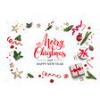 holiday white card vector image
