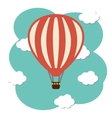 Hot air ballon icon vector image