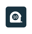 measurement icon Rounded squares button vector image