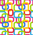 Seamless Geometric Pattern with Colorful vector image vector image