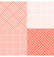 set square tile seamless pattern vector image vector image