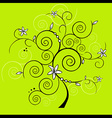 design tree vector image