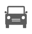 Car sign on white vector image vector image