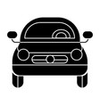 car vehicle front view icon vector image vector image