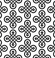 Celtic Irish knots seamless pattern vector image