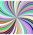 colorful abstract hypnotic vortex background from vector image vector image