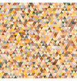 Colorful triangles geometric seamless pattern vector image vector image