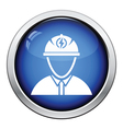 Electric engineer icon vector image vector image