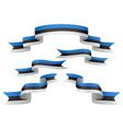 estonia insignia vector image vector image