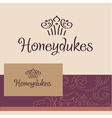 Honeydukes Logo business card vector image vector image