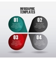 infographic templates design vector image vector image