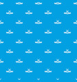 knive weapon pattern seamless blue vector image