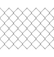 realistic fence rabitz pattern seamless vector image