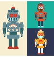 Robot and technology design vector image vector image